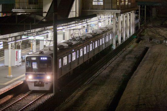 7808編成による確認列車