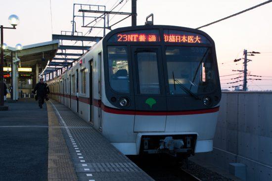 日中の23Nを代走した都営車(4/1・新鎌ヶ谷)