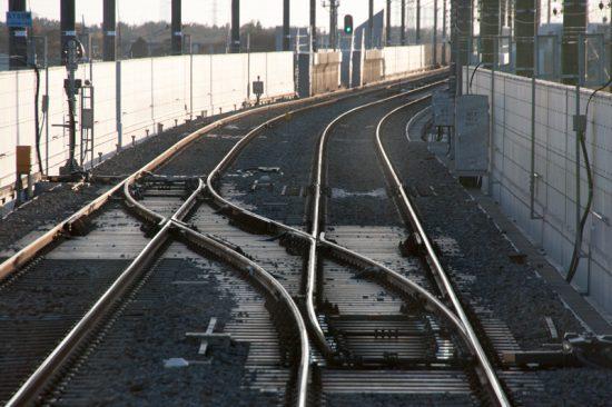 新鎌ヶ谷起点方の渡り線を営業列車で通ることが出来た(4/4・新鎌ヶ谷)