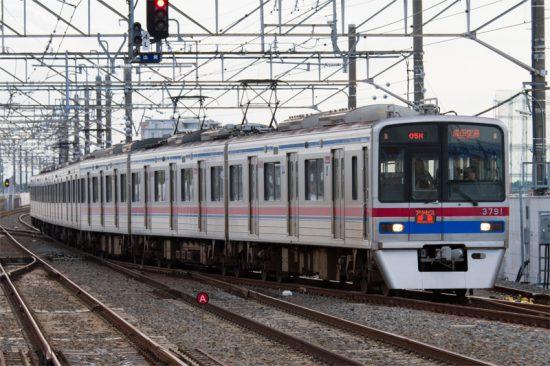 アクセス特急の専用車運用は形骸化していった(6/8・新鎌ヶ谷)