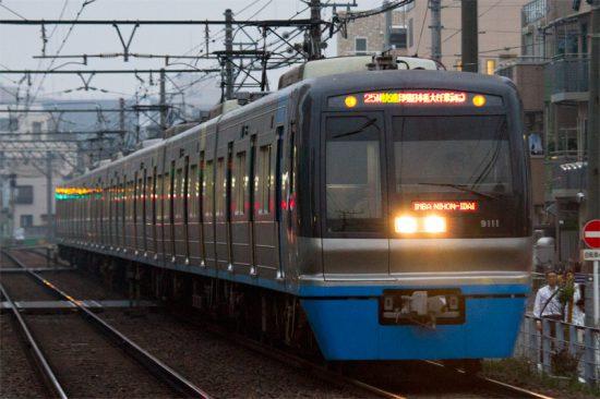 運休から復活した第1725N快速(6/27・京成立石)
