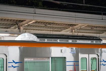 屋根上集中式インバータユニットクーラ