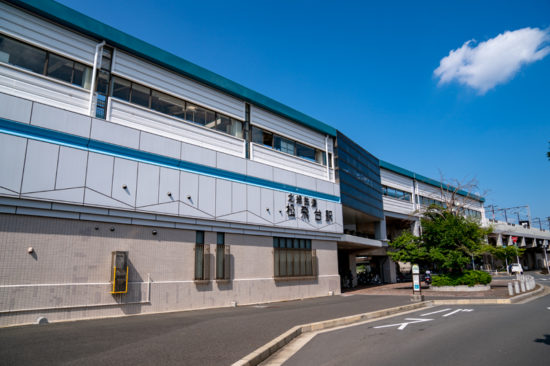 駅舎(2019年8月)