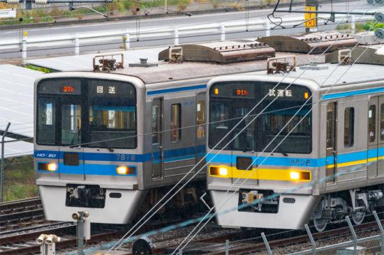 あの電車は今(2019/11/22・印旛日本医大引上線)