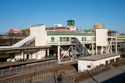 駅舎(2019年11月)