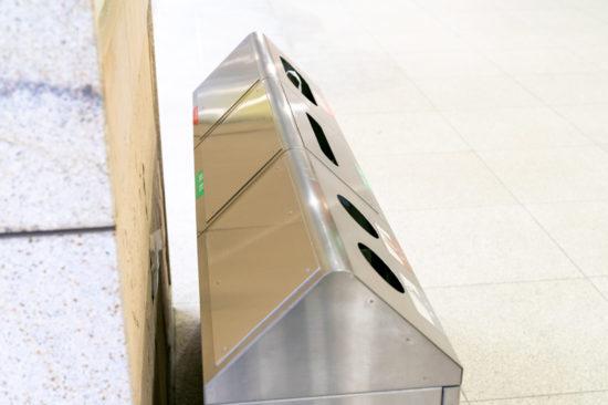 片面仕様になったゴミ箱