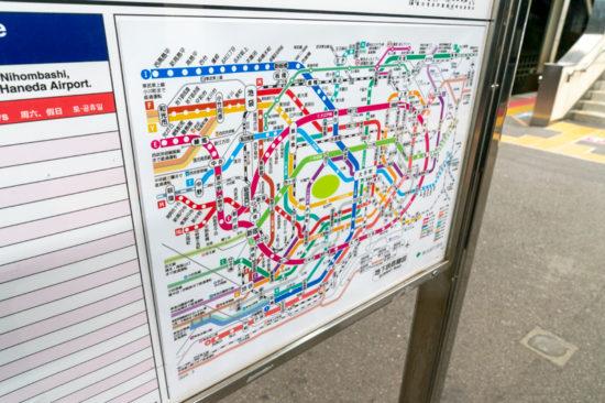 めっちゃ直しました感のある地下鉄路線図