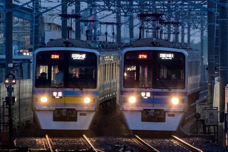ただの定期列車(2020/6/26・新鎌ヶ谷)