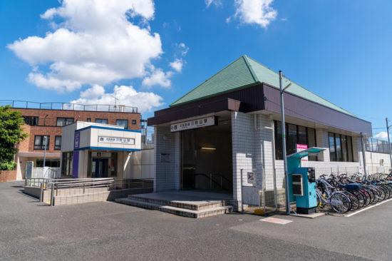 駅舎外観(2020年8月)